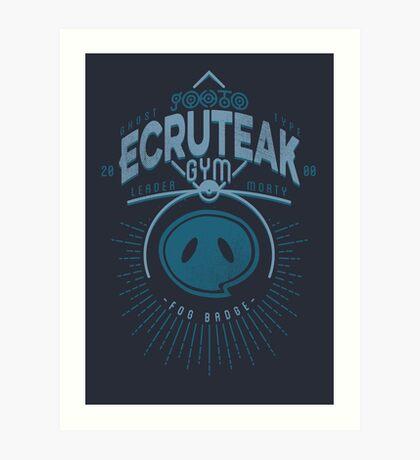 Ecruteak Gym Art Print