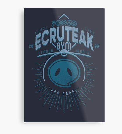Ecruteak Gym Metal Print