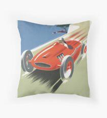 Art Deco Cote d'Azur  Throw Pillow