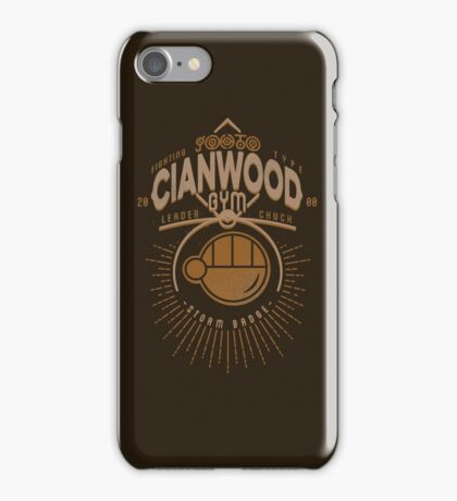 Cianwood Gym iPhone Case/Skin