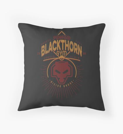 Blackthorn Gym Throw Pillow