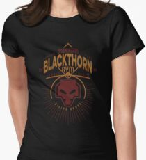 Blackthorn Gym Women's Fitted T-Shirt