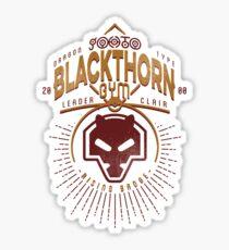 Blackthorn Gym Sticker