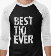 Best Tio Ever Uncle Mens T-shirt Cute Funny Gift For Man Favorite Men's Baseball ¾ T-Shirt