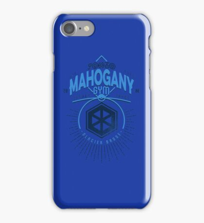 Mahogany Gym iPhone Case/Skin