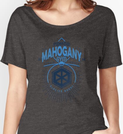 Mahogany Gym Women's Relaxed Fit T-Shirt
