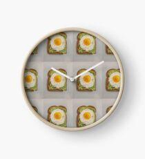 Egg & Avocado Toast Clock