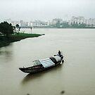 Sampam Hue Vietnam by Andrew  Makowiecki
