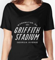 Griffith Stadium  Washington Women's Relaxed Fit T-Shirt