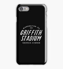 Griffith Stadium  Washington iPhone Case/Skin