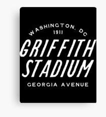 Griffith Stadium  Washington Canvas Print
