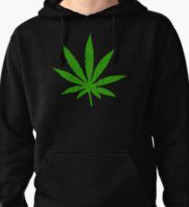 Sudadera con capucha Hoja de marihuana