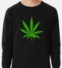 Marijuana Leaf Lightweight Sweatshirt