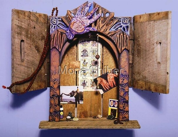 Altar Gateway: removing obstacles by Mona Shiber