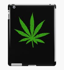 Marijuana Leaf iPad Case/Skin