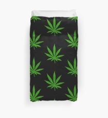 Marijuana Leaf Duvet Cover