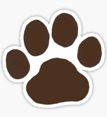 Dog Paw Print(s) Sticker