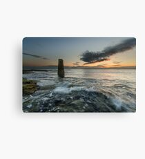 The Rangefinder and the Sunrise Canvas Print