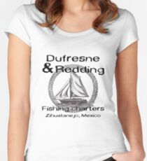 Dufresne and Redding Fishing Charters Women's Fitted Scoop T-Shirt