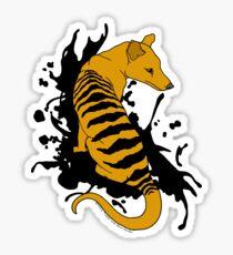 Thylacine Ink Sticker