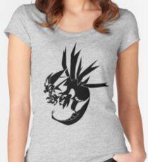 Geometric Hydreigon Women's Fitted Scoop T-Shirt