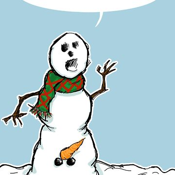 Mature Snowman by adraftee