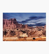 Sunrise over Badlands National Park .5 Photographic Print