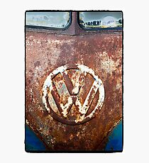 VW Rustic Photographic Print