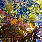 Flowing River Abstract 3 by AlexandraZloto