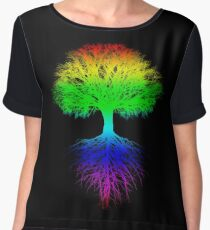 Sunshine, Lollypops and Rainbows Women's Chiffon Top