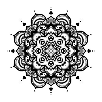 Mandala Ten - No Text by catebolt