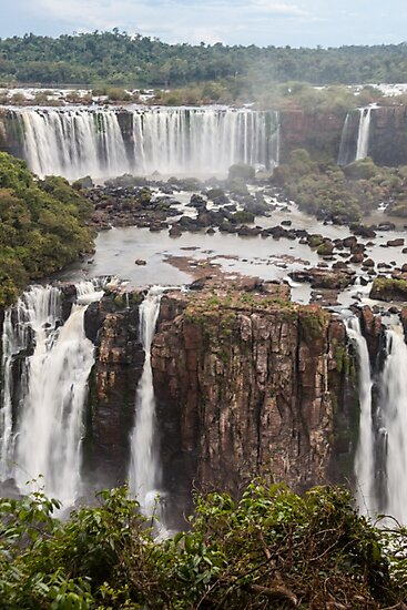 Iguazu Falls - Brazil by Mathieu Longvert