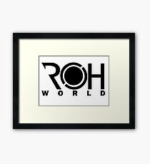 ROHworld ~ Shin Framed Print