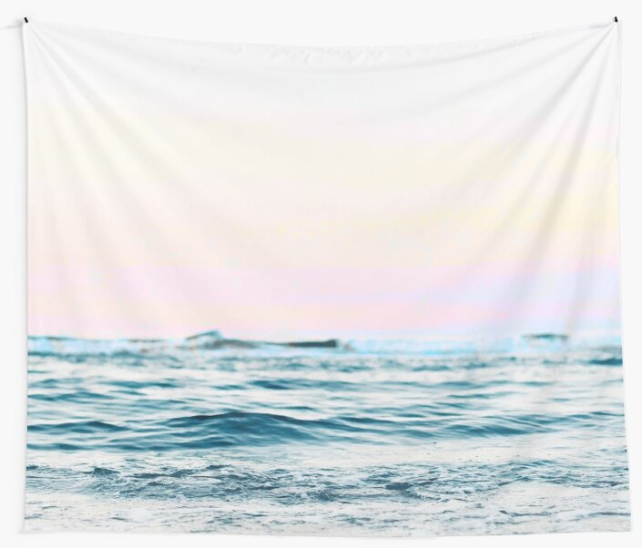 Dreamy Ocean #redbubble #decor  by 83oranges