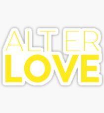 Alt Er Love — Skam Sticker