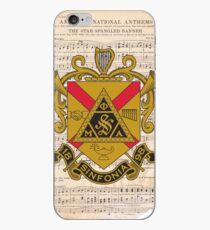 Phi Mu Alpha Sinfonia - American National Anthem iPhone Case