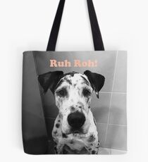 Ruh Roh! - Great Dane Tote Bag
