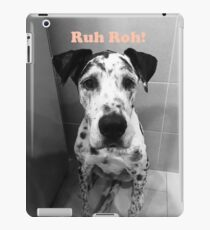 Ruh Roh! - Great Dane iPad Case/Skin