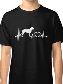 I Love Bullmastiff, Bullmastiff Heartbeat Classic T-Shirt
