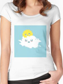 Cute Cloud Women's Fitted Scoop T-Shirt
