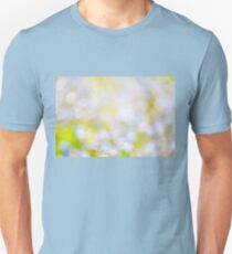 sparkles and circles bokeh abstract  T-Shirt