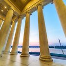 Monumental Sunset by Raymond Warren