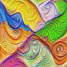 The Color Spots was each carefully sculpted #DeepDream by blackhalt