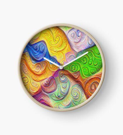 The Color Spots was each carefully sculpted #DeepDream Clock