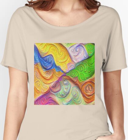The Color Spots was each carefully sculpted #DeepDream Relaxed Fit T-Shirt