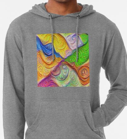 The Color Spots was each carefully sculpted #DeepDream Lightweight Hoodie