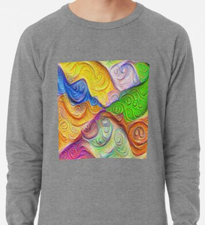 The Color Spots was each carefully sculpted #DeepDream Lightweight Sweatshirt