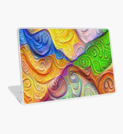 The Color Spots was each carefully sculpted #DeepDream Laptop Skin