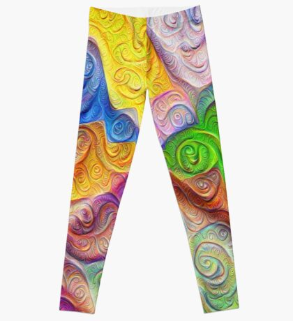 The Color Spots was each carefully sculpted #DeepDream Leggings