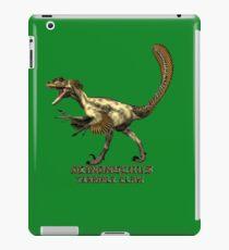 "Deinonychus ""terrible claw"" T_shirt iPad Case/Skin"
